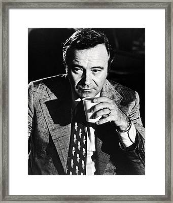 Jack Lemmon In Save The Tiger  Framed Print by Silver Screen