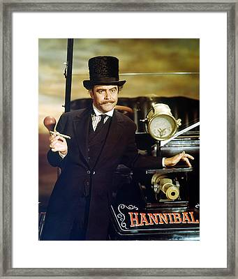 Jack Lemmon In The Great Race Framed Print by Silver Screen