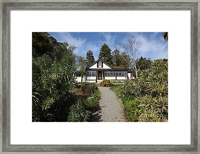 Jack London Cottage 5d22120 Framed Print by Wingsdomain Art and Photography