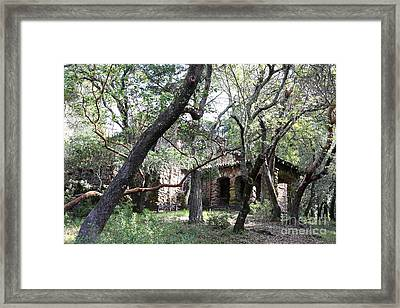 Jack London House Of Happy Walls 5d21961 Framed Print by Wingsdomain Art and Photography