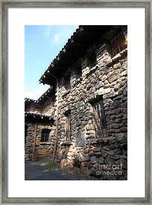 Jack London House Of Happy Walls 5d21967 Framed Print by Wingsdomain Art and Photography