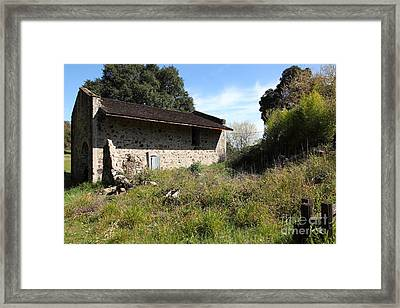 Jack London Ranch Distillery 5d22182 Framed Print by Wingsdomain Art and Photography