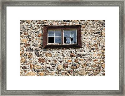 Jack London Sherry Barn 5d22076 Framed Print by Wingsdomain Art and Photography