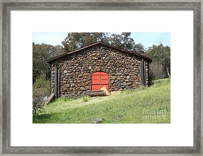 Jack London Stallion Barn 5d22101 Framed Print by Wingsdomain Art and Photography