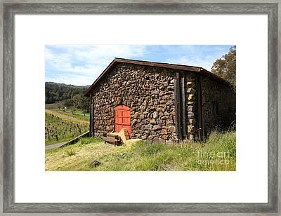 Jack London Stallion Barn 5d22104 Framed Print by Wingsdomain Art and Photography