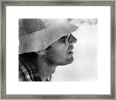 Jack Nicholson In Professione: Reporter  Framed Print by Silver Screen