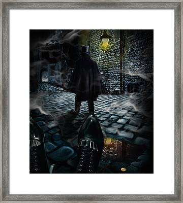 Jack The Ripper Framed Print by Alessandro Della Pietra