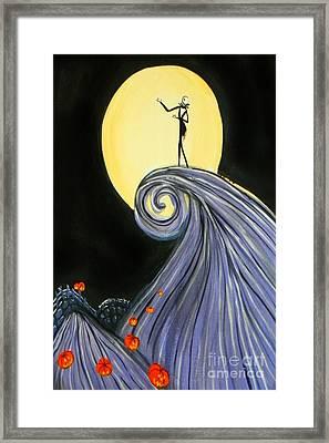 Jack's Lament Framed Print by Marisela Mungia