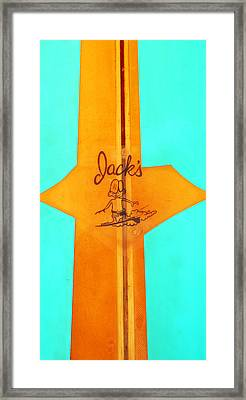 Jacks Framed Print by Ron Regalado