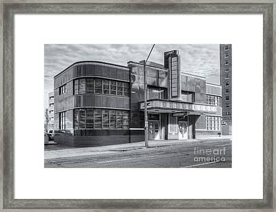 Jackson Mississippi Greyhound Bus Station Iv Framed Print by Clarence Holmes