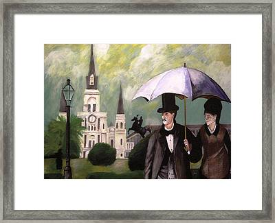 Jackson Square Framed Print by Rob Peters