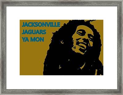 Jacksonville Jaguars Ya Mon Framed Print by Joe Hamilton