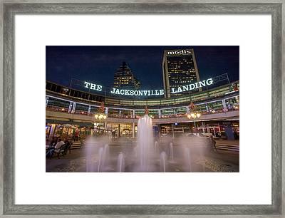 Jacksonville Landing Framed Print by Chris Moore