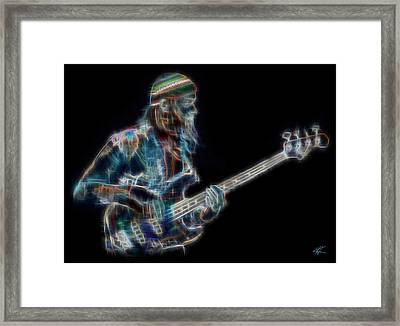 Jaco Framed Print by Kenneth Armand Johnson