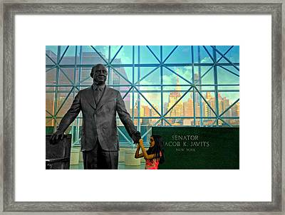 Jacob K. Javits Framed Print by Diana Angstadt