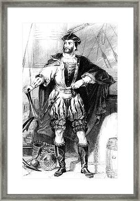 Jacques Cartier Framed Print by Collection Abecasis