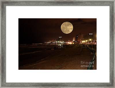 Jaffa At Night Framed Print by Doc Braham