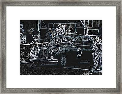 Jaguar Markvii 1952 Framed Print by John Colley