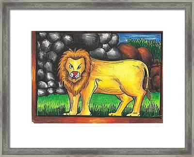 Jai 2 Framed Print by Jai Ganesh