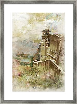 Jaigarh Fort Framed Print by Catf