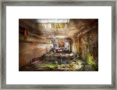 Jail - Eastern State Penitentiary - The Mess Hall  Framed Print by Mike Savad