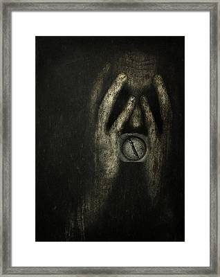 Jail Within Framed Print by Johan Lilja