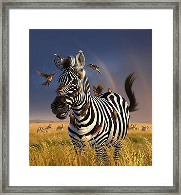Jailbird Framed Print by Jerry LoFaro