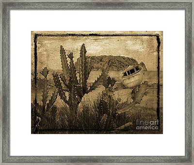 Jamaica Beach Framed Print by Jim Wright