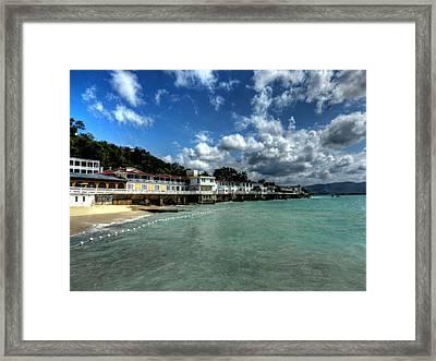 Jamaica - Montego Bay 001 Framed Print by Lance Vaughn