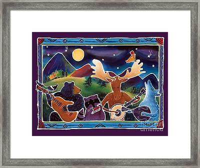 Jamboree Framed Print by Harriet Peck Taylor