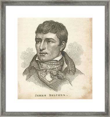 James Belcher Framed Print by British Library