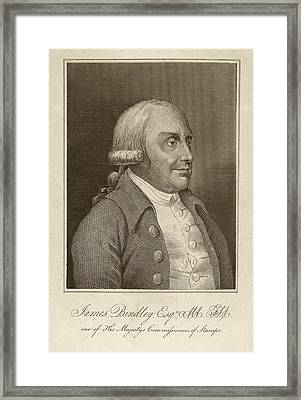 James Bindley Framed Print by Middle Temple Library