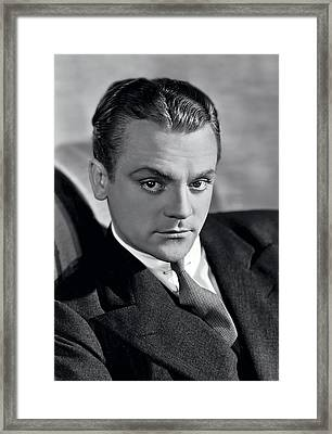 James Cagney Framed Print by Daniel Hagerman
