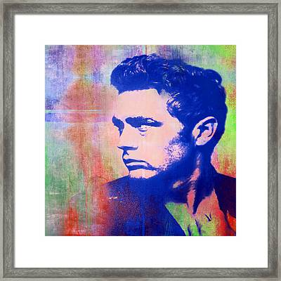 James Dean Framed Print by Catherine Arnas