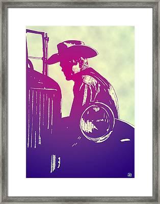 James Dean Framed Print by Giuseppe Cristiano