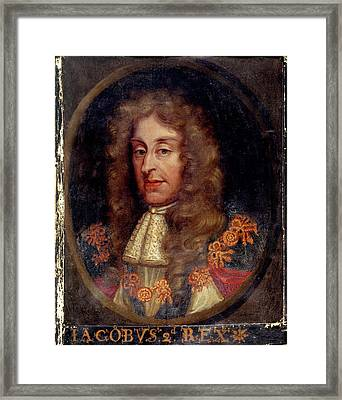 James II Framed Print by British Library