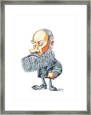 James Joule Framed Print by Gary Brown