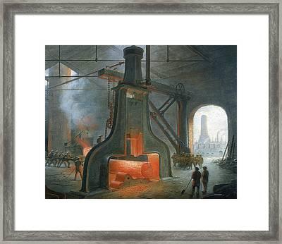 James Nasmyth's Steam Hammer Framed Print by James Nasmyth