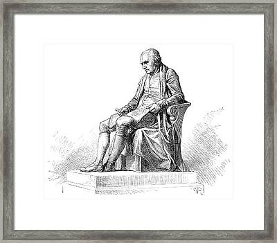 James Watt Framed Print by Science Photo Library