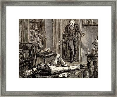 James Young Simpson Framed Print by Universal History Archive/uig