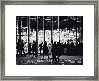 Jane's Carousel Framed Print by Rebekah Wilson