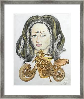 Jane's Chains Framed Print by Stephen Brooks