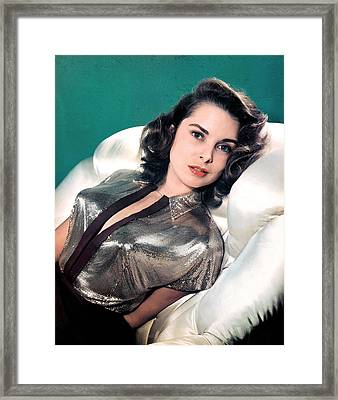Janet Leigh Framed Print by Studio Photo