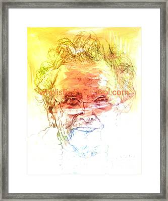 Janice Framed Print by  Maestro