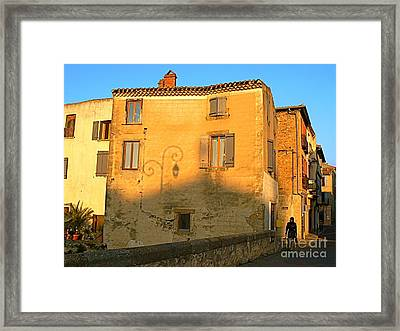 The Lady Of Limoux Framed Print by France  Art