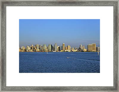 January In San Diego Framed Print by Christine Till