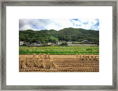 Japan, Nara Prefecture, Heguri-cho Framed Print by Jaynes Gallery