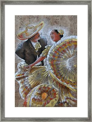 Jarabe Tapatio Dance Framed Print by Jose Espinoza