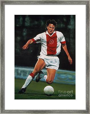 Jari Litmanen Framed Print by Paul Meijering