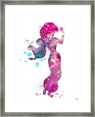 Jasmine Framed Print by Luke and Slavi